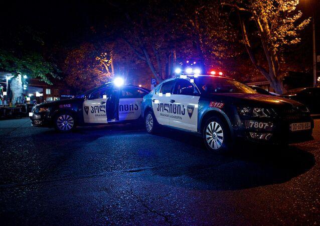 Gruzinská policie