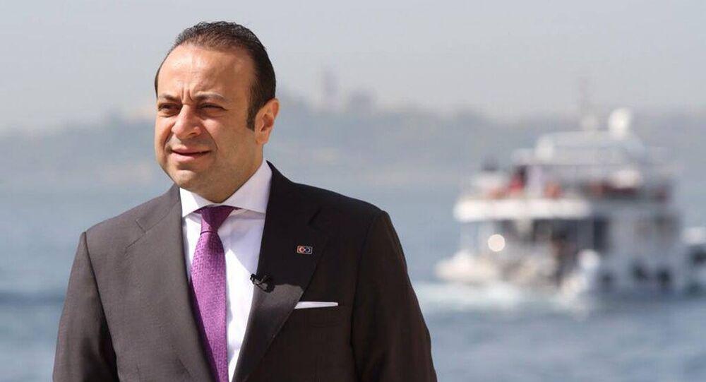 Turecký velvyslanec v Praze Egemen Bağış