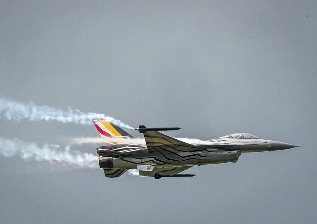 Stíhačka F-16 belgického letectva