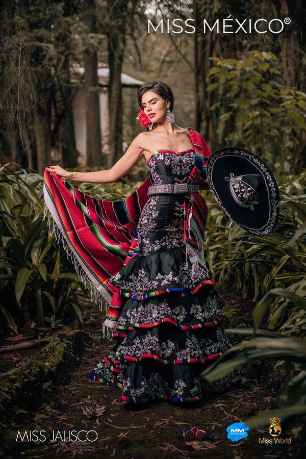 Účastnice soutěže Miss Mexico předvedly národní kroje - Sputnik Česká republika