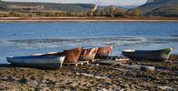 Na popraskané zemi: Bachčisarajská přehrada na Krymu