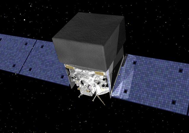 Družice Fermi. Ilustrační foto.