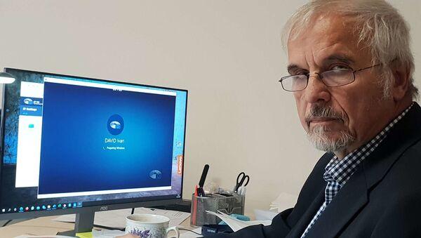 Europoslanec za SPD Ivan David - Sputnik Česká republika