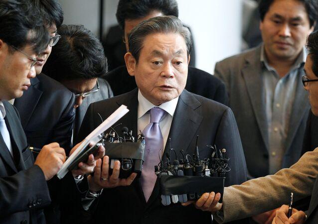 Předseda Samsungu Lee Kun-hee