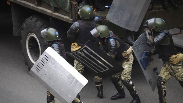 Policie v Minsku - Sputnik Česká republika