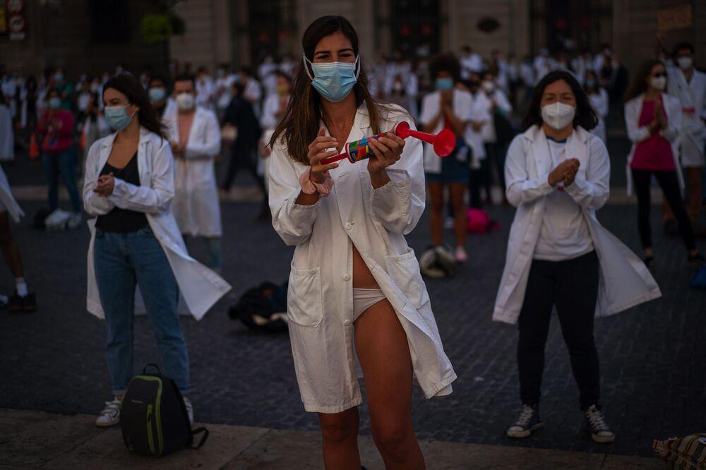 Protesty, triumfy, krása: Ty nejúchvatnější záběry uplynulého týdne z různých koutků světa