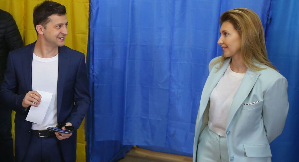 Prezident Zelenský a jeho žena