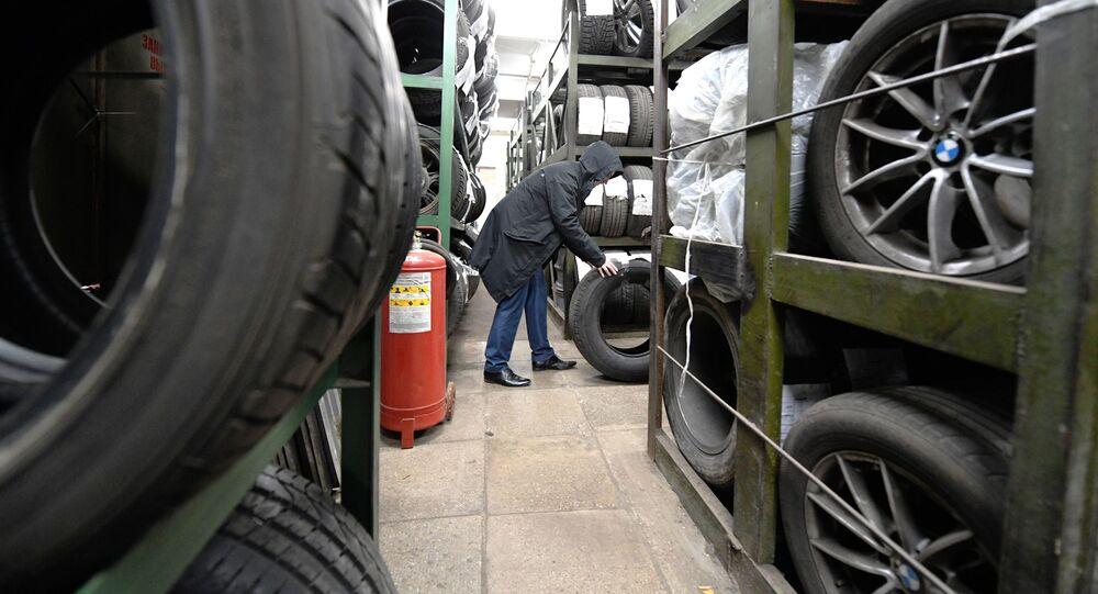 Sezónní výměna pneumatik