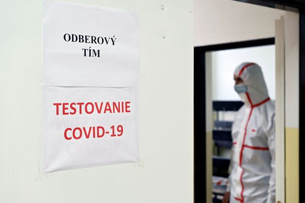 První fáze plošného testování na Slovensku skončila. Jak dopadla a jaké výsledky přinesla - Sputnik Česká republika