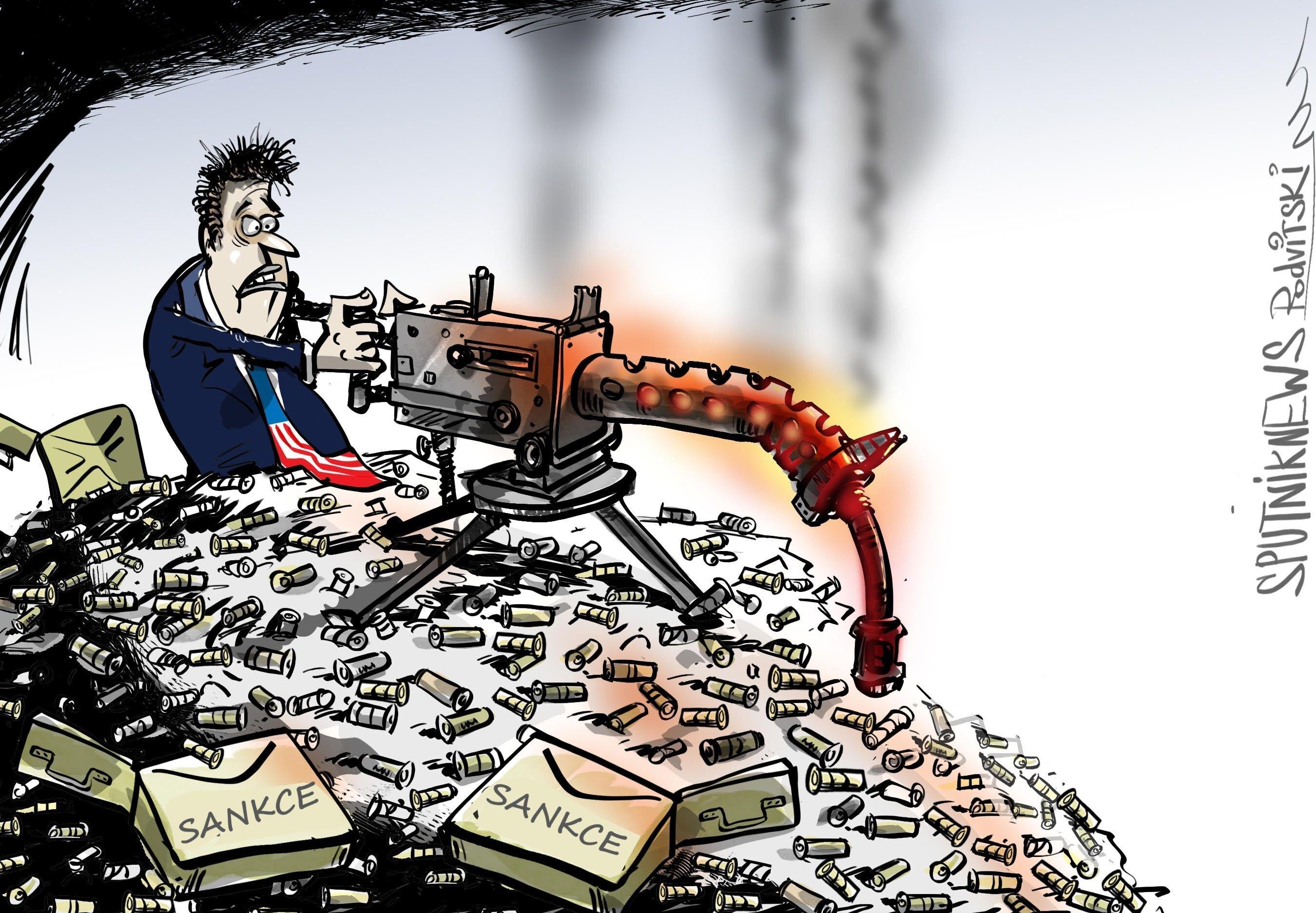 Limit sankcí proti Rusku a Íránu je vyčerpán.