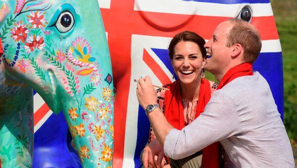 Kate Middletonová a princ William - Sputnik Česká republika