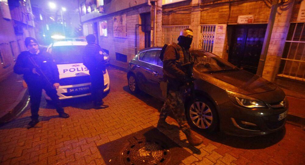 Turečtí policisté v Istanbulu. Ilustrační foto