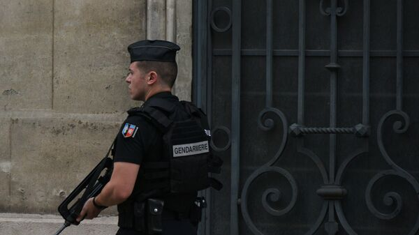 Policista v Paříži - Sputnik Česká republika