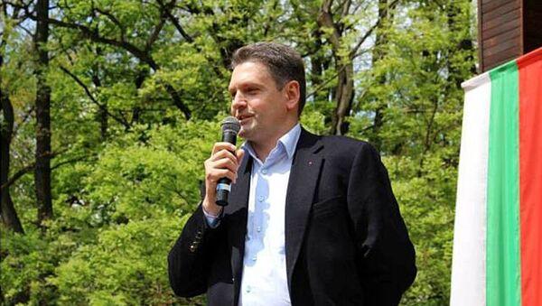 Předseda bulharského národního hnutí Rusofilové Nikolaj Malinov - Sputnik Česká republika