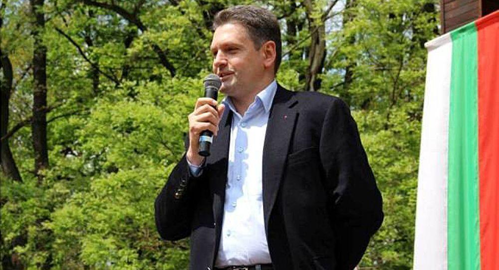 Předseda bulharského národního hnutí Rusofilové Nikolaj Malinov