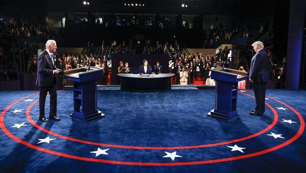 Kandidáti na post prezidenta USA Joe Biden a Donald Trump. - Sputnik Česká republika
