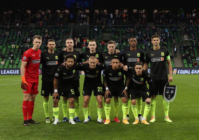 Hráči ruského týmu Krasnodar