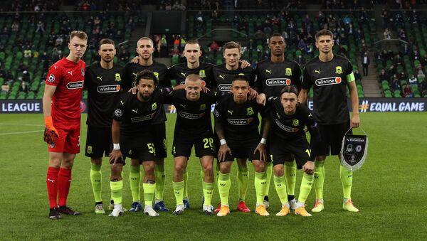 Hráči ruského týmu Krasnodar - Sputnik Česká republika