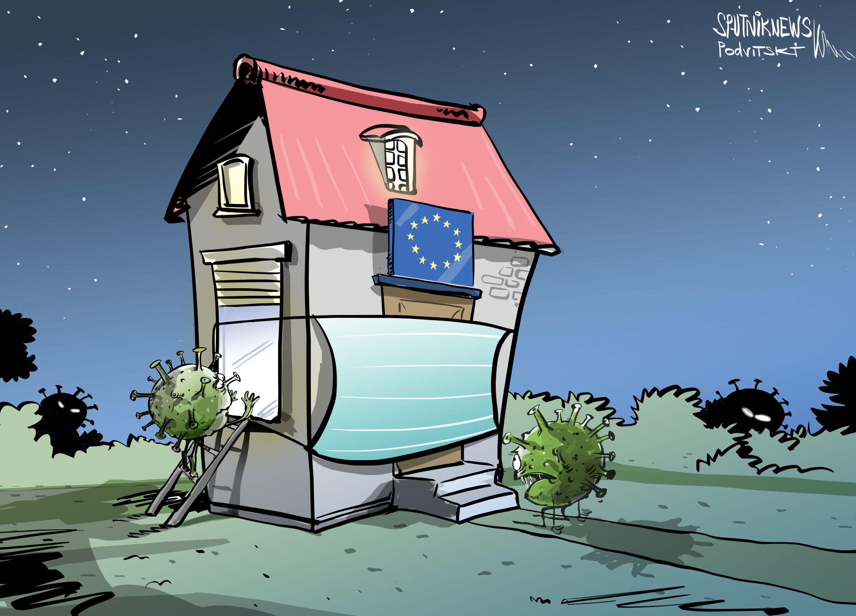 Evropa opět uzavírá na karanténu
