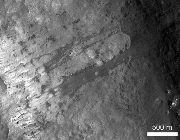 Sesuv půdy v kráteru Kepler - Sputnik Česká republika