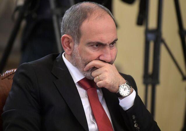 Arménský premiér Nikol Pašinjan