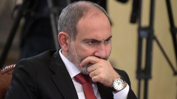 Arménský premiér Nikol Pašinjan - Sputnik Česká republika