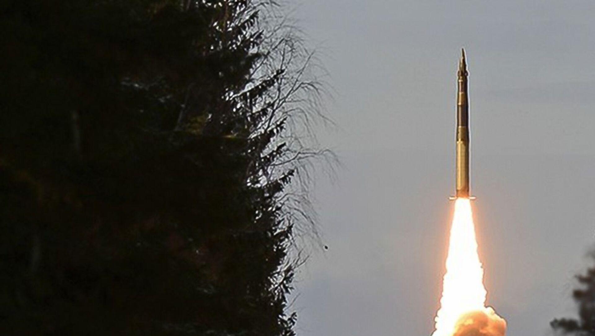 Cvičné odpálení mezikontinentální balistické rakety Jars  - Sputnik Česká republika, 1920, 03.02.2021