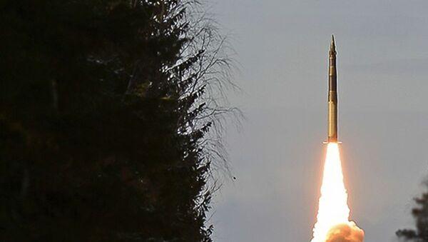 Cvičné odpálení mezikontinentální balistické rakety Jars  - Sputnik Česká republika