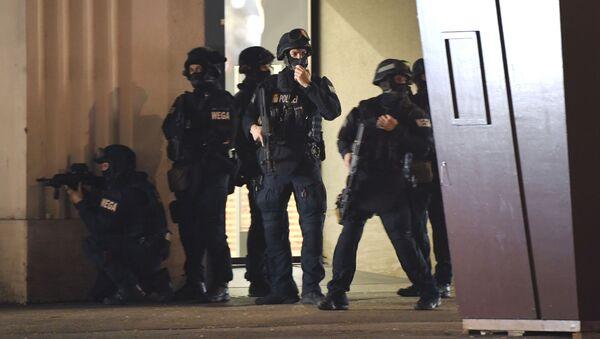 Policie na místě střelby ve Vídni - Sputnik Česká republika