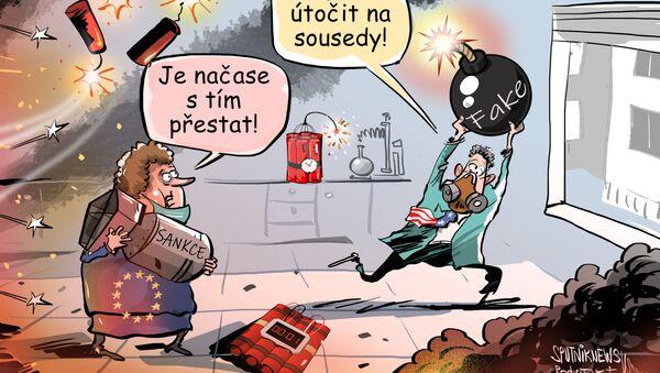 Přístup USA a EU k řešení svých vlastních záležitostí    - Sputnik Česká republika