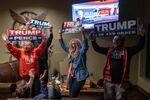 Příznivci amerického prezidenta Donalda Trumpa