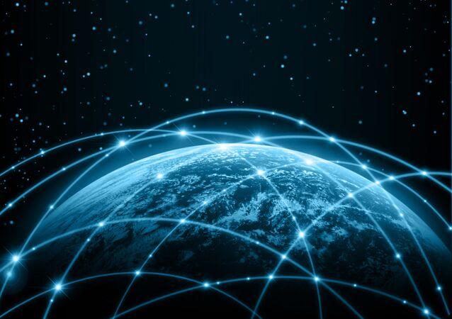Globální síť. Ilustrační foto