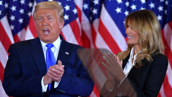 Donald Trump a Melania Trumpová - Sputnik Česká republika
