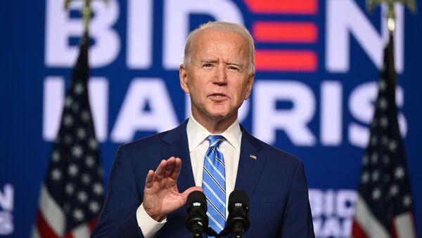 Kandidát na prezidenta Joe Biden - Sputnik Česká republika