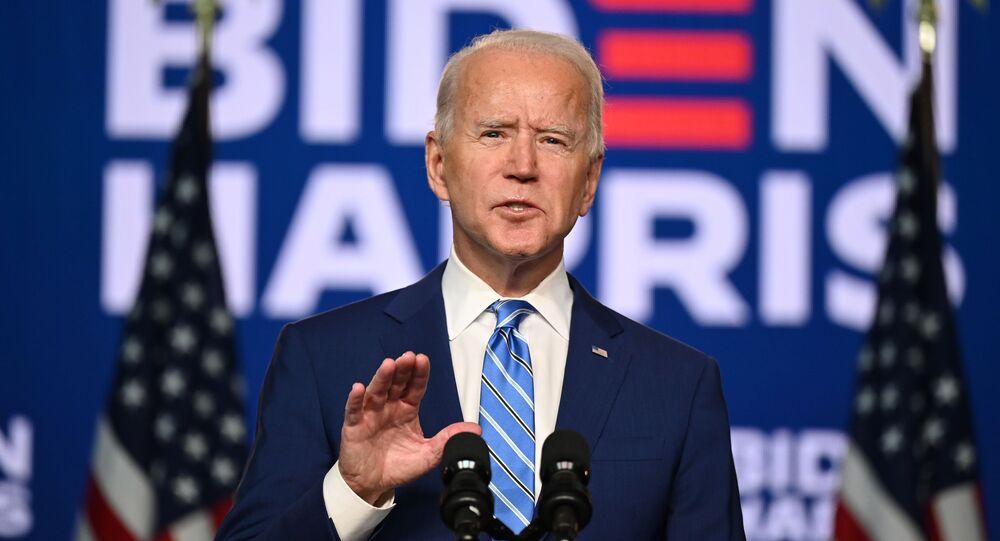 Kandidát na prezidenta Joe Biden