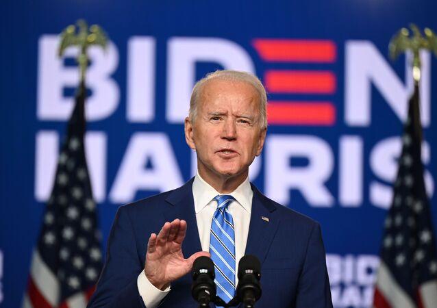 Americký prezidentský kandidát Joe Biden