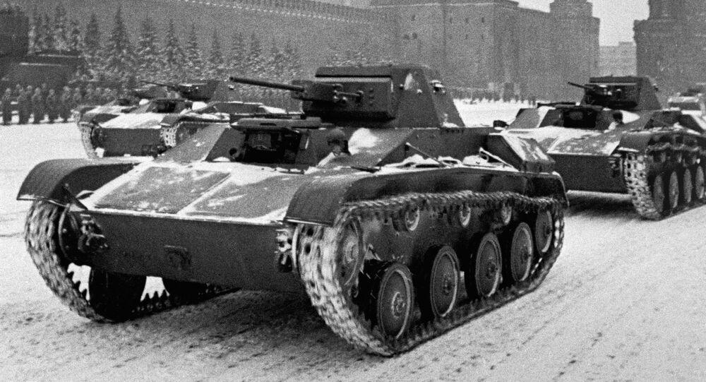Vojenská přehlídka 7. listopadu 1941 v Moskvě