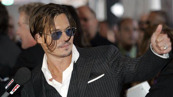 Johnny Depp - Sputnik Česká republika