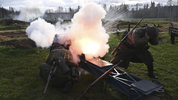 Na počest hrdinů. V Rusku rekonstruovali bitvu před Moskvou - Sputnik Česká republika