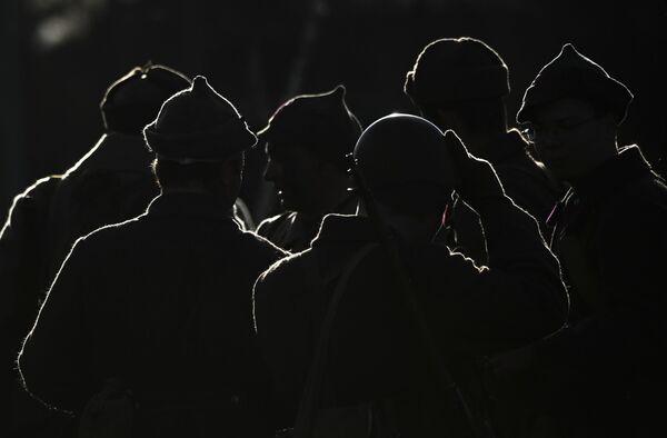 Rekonstrukce bitvy před Moskvou. Muzejní komplex Cesta pamětí, Moskevská oblast. - Sputnik Česká republika