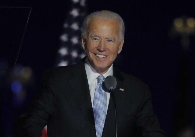 Kandidát demokratů Joe Biden