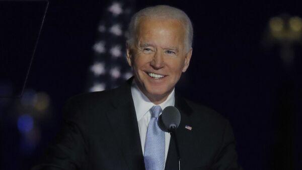 Kandidát demokratů Joe Biden - Sputnik Česká republika