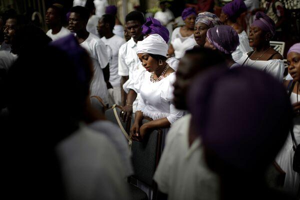 Každoroční festival tance s mrtvými na Haiti. - Sputnik Česká republika