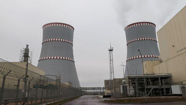 Běloruská jaderná elektrárna - Sputnik Česká republika