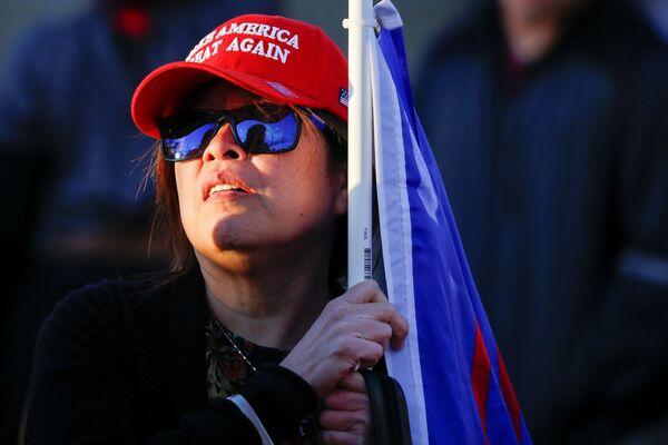 Protest Stop The Steal ve Phoenixu. - Sputnik Česká republika