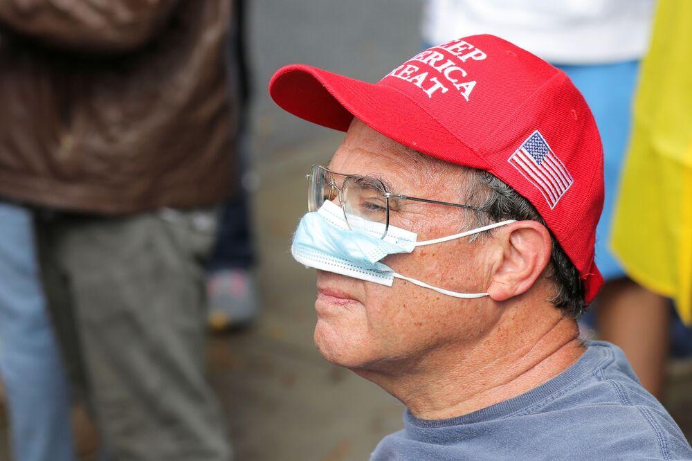 Protest Stop The Steal v Atlantě.