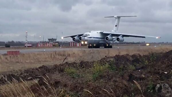 Ruský Il-76  - Sputnik Česká republika