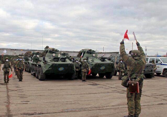 Vyslání mírotvůrců do Náhorního Karabachu