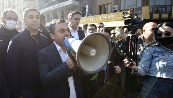 Opoziční mítink v Jerevanu - Sputnik Česká republika