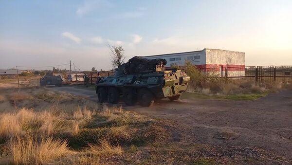 Přesun ruských mírových jednotek do Náhorního Karabachu - Sputnik Česká republika